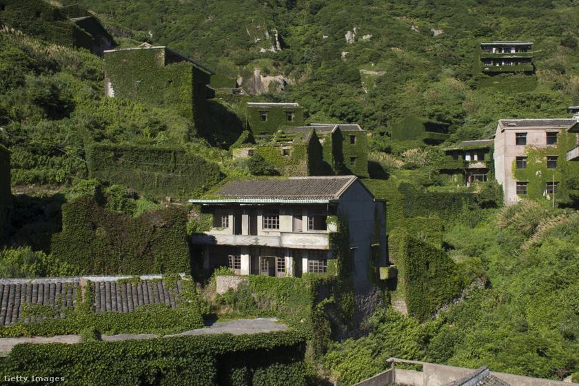 Houtouwan faluja.