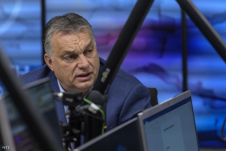 Orbán Viktor a Kossuth Rádióban 2018-ban