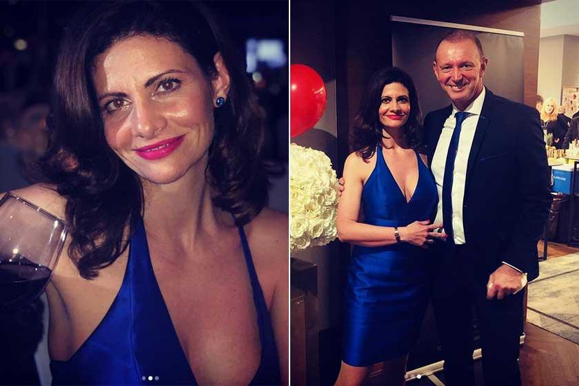 Adrienn gyönyörű volt a XV. Szóvivő Bálon, amit idén februárban rendeztek meg a Budapest Marriott Hotelben.
