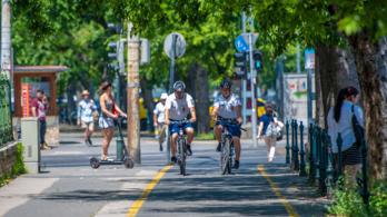 Biciklis rendőröket rendelnek ki a nagykörúti biciklisávhoz
