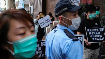 Amerika szerint veszélyben van Hongkong szabadsága