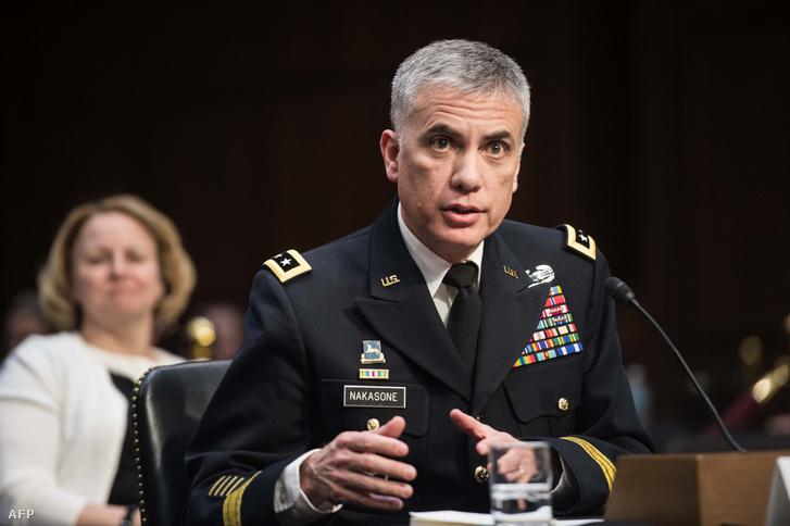 Paul Nakasone, az amerikai szárazföldi hadsereg altábornagya, az amerikai Nemzetbiztonsági Ügynökség, az NSA igazgatója