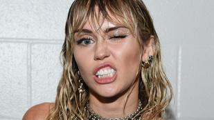 Miley Cyrus neccharisnyába öltöztette 23 éves pasiját
