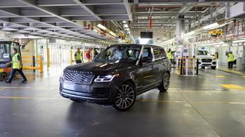 Elkészült az első járványhelyzetben gyártott Range Rover
