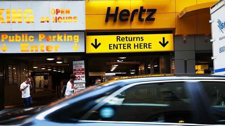 Csődöt jelentett az amerikai autókölcsönző-óriás Hertz