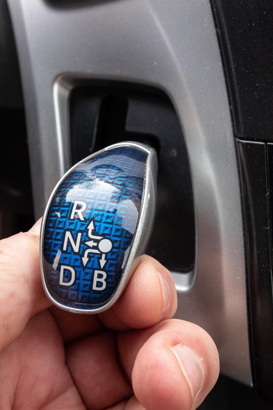 A szokásos Prius-előválasztókar
