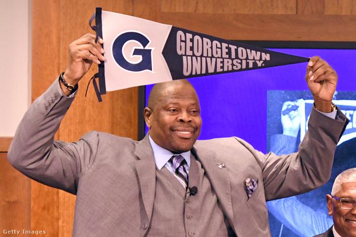 Patrick Ewing, a Georgetown University edzőjeként.