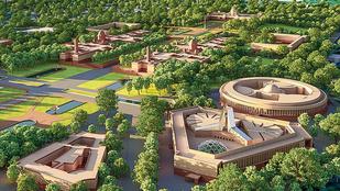 Hatalmas új parlamentet építene India, de a világ egyik leghíresebb szobrásza szerint ez barbárság