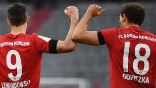 Gólzáporos meccsen vágott vissza az 5-1-es vereségért a Bayern