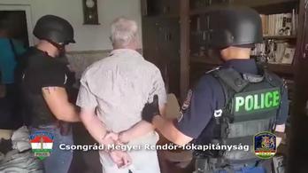 Fegyverrel ment virágboltot rabolni egy szegedi férfi