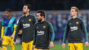 Marca: A Barcelona a Hat Érinthetetlenen kívül senkit nem marasztal