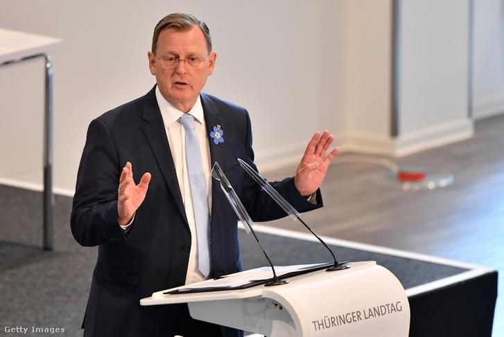 Bodo Ramelow miniszterelnök
