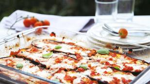 Padlizsános lasagne hús nélkül – gluténmentes, tojásmentes recept