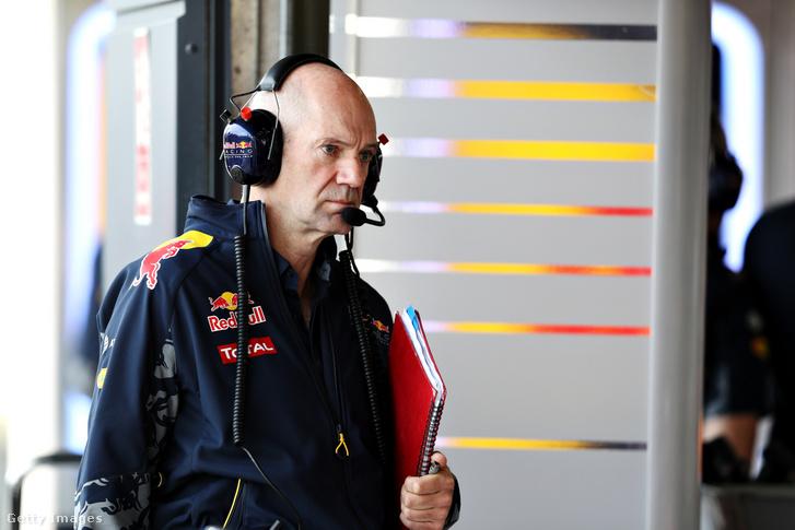 A Williams és a McLaren korábbi, a Red Bull jelenlegi tervezőgéniusza, Adrian Newey