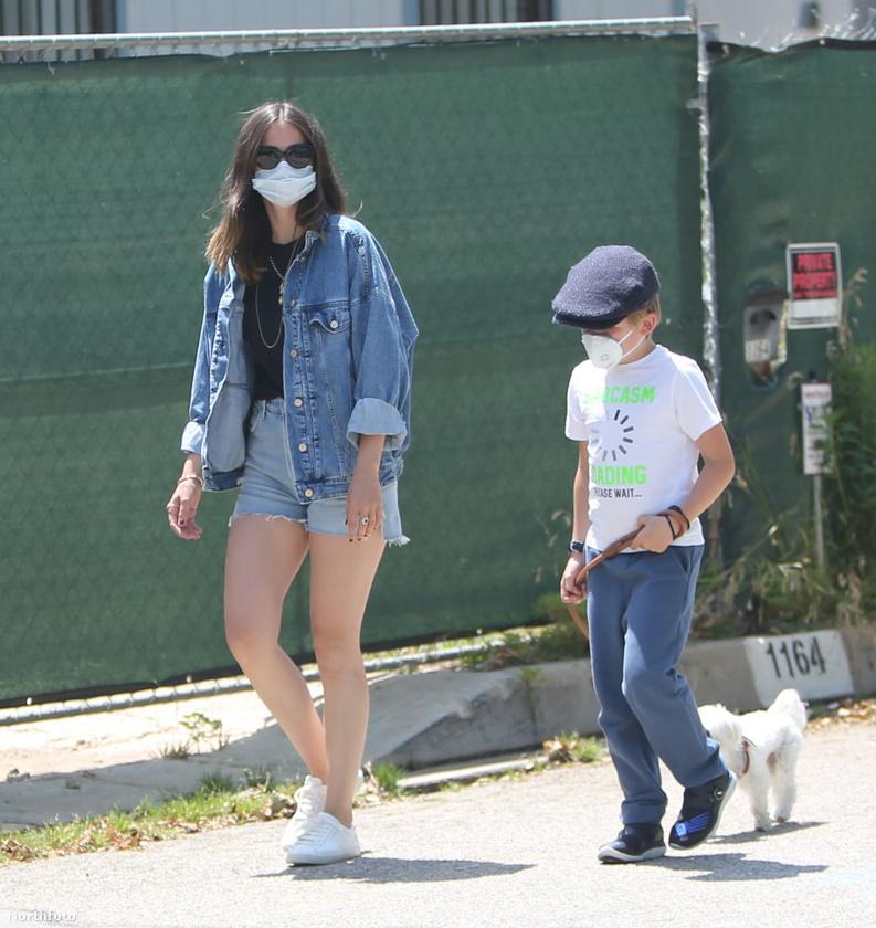 A jelek szerint Ben Affleck nyolcéves fia rögtön szimpatizálni kezdett a 32 éves színésznővel, aki azt is megengedte neki, hogy ő vigye a kiskutyáját.