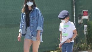 Ben Affleck végre a gyerekeinek is bemutatta a barátnőjét