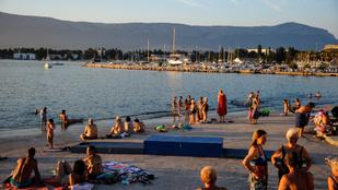 Elindult a nyári szezon a horvát tengerparton