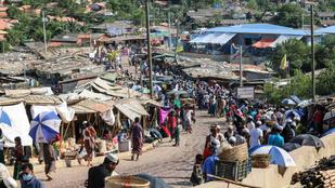 15 ezer menekült rohingja került karanténba Bangladesben