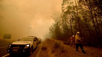 Csak a bozóttüzek füstjétől 445 ember halt meg Ausztráliában