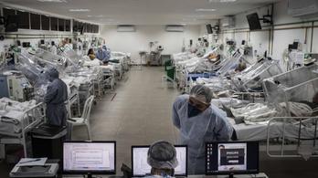 Egyre durvább a helyzet Brazíliában a koronavírus miatt