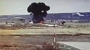 A szerviz utáni próbarepüléskor zuhant le egy orosz helikopter