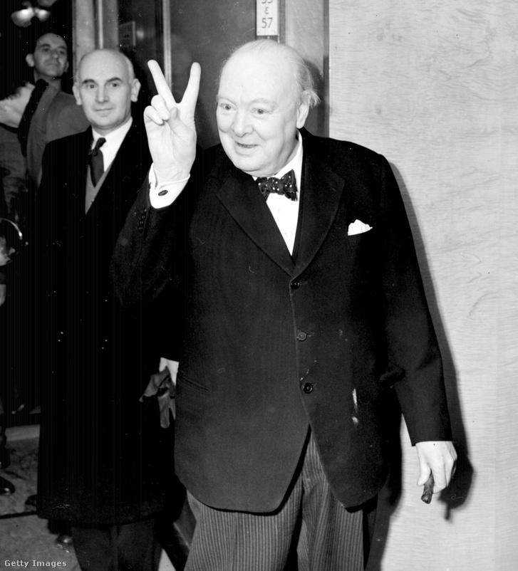 Churchill az ötvenes évekbeli miniszterelnöki ciklusában