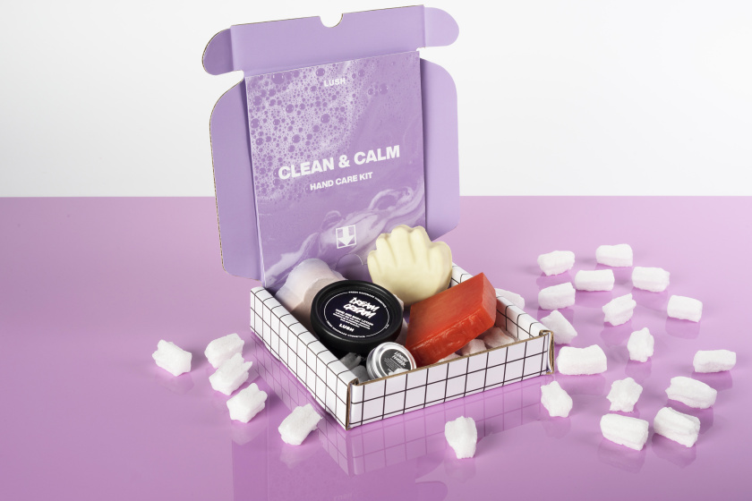 clean and calm hand care kit