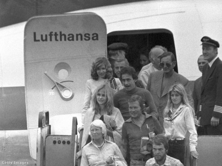 Az elrabolt Lufthansa-gép visszatérése Németországba 1977. október 18-án