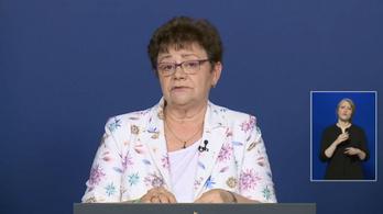 Müller Cecília: 100 ezer lakosra 38 fertőzött jut az országban - az operatív törzs május 26-i tájékoztatója