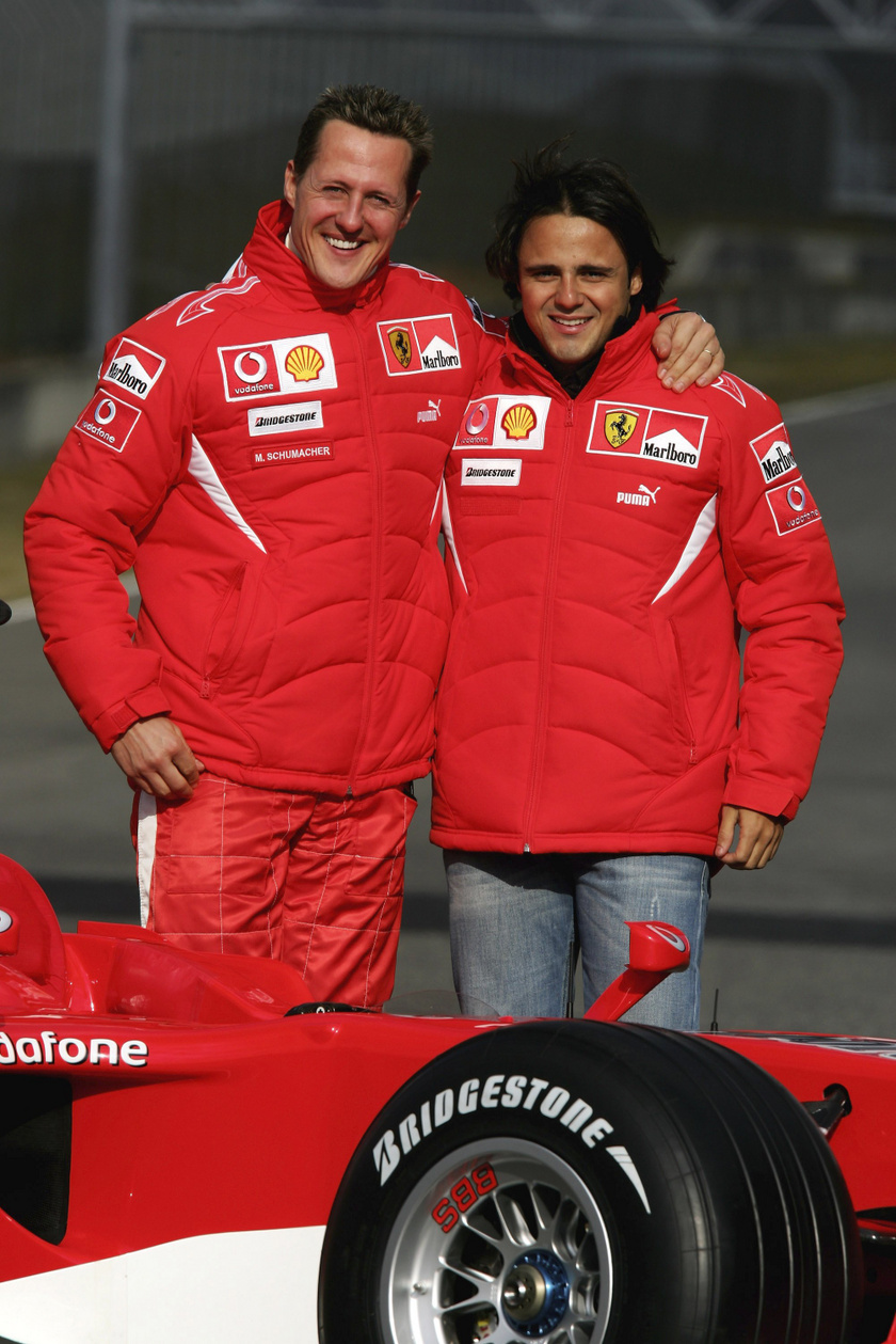 Michael Schumacher és Felipe Massa mindig is jó barátságot ápoltak egymással.