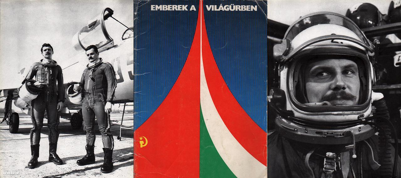 Az Emberek a világűrben című kiadvány egy az űrkutatás történetét összefoglaló fotógyűjtemény volt, amiben vagy tíz kép mutatta be a magyar-szovjet közös űrrepülés pillanatait, a magyar űrhajósokat. A foókat szépen bekeretezve mutatós iskolai kamarakiállítást lehetett rendezni az űrhajósok tiszteletére.