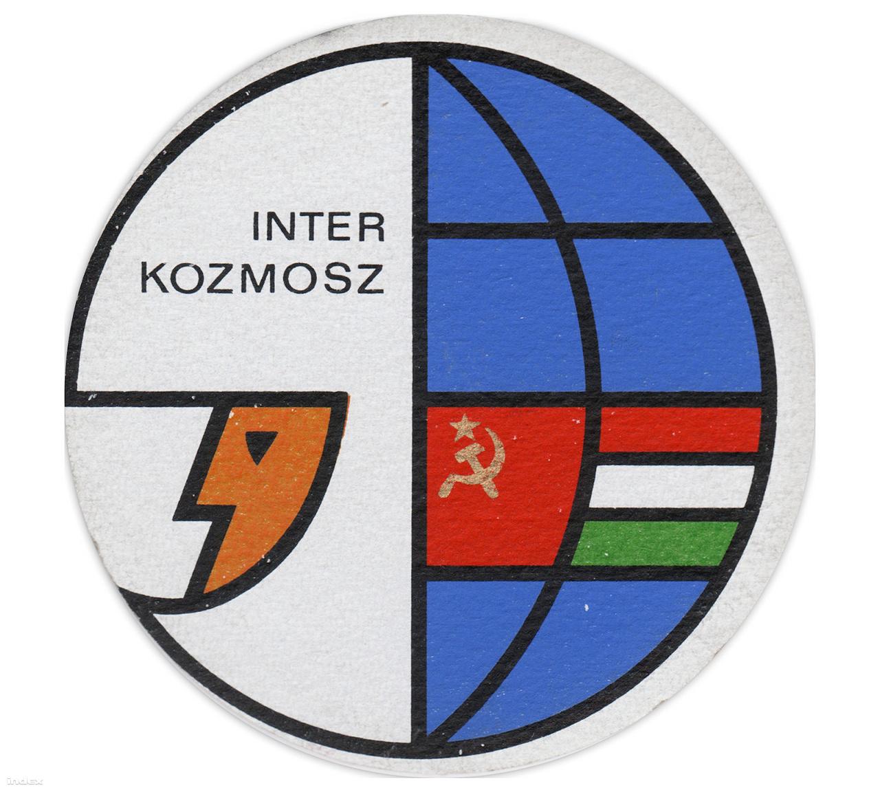 Interkozmosz söralátét a szovjet-magyar közös űrrepülés jegyében. Za zdarovje!