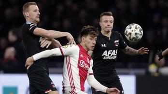 Ennél jobban nem szívhatta volna meg a bajnokság lefújását a holland focicsapat