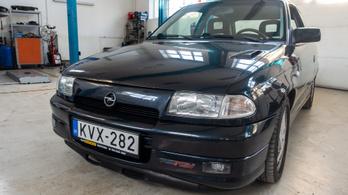 A legjobb Opel-motor egy Astrában, 300 ezer kilométerrel