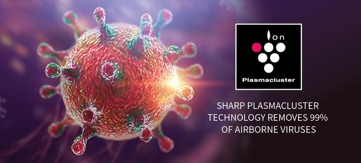 Sharp Plasmacluster H7N9 vírus (1)
