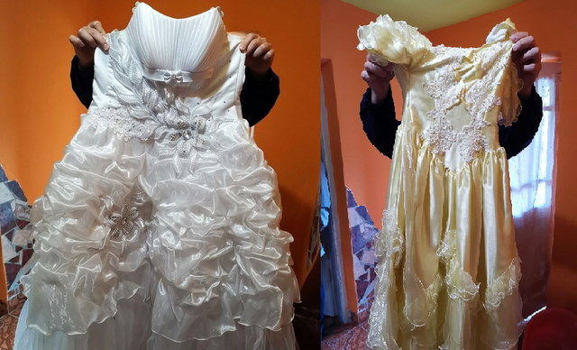 A két ruha visszakerült a tulajdonosához.