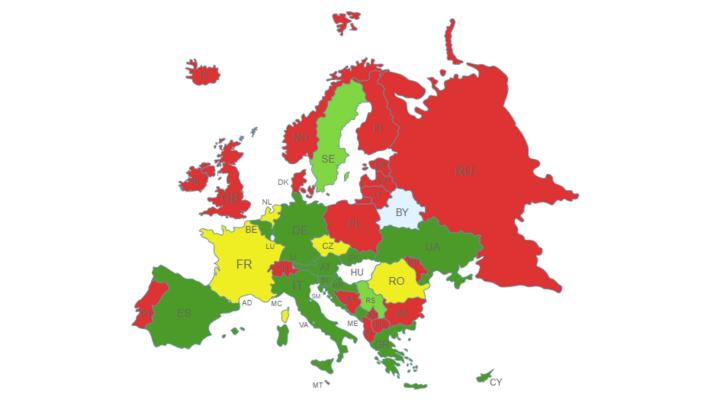 A térkép május 26-án