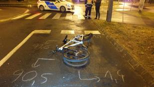 Meghalt a kerékpáros férfi, akit Nyíregyházán gázoltak el két nappal ezelőtt