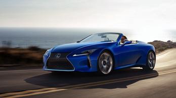 Lexus LC 500 Convertible 2021. – statikus, de hát nem mindegy?!