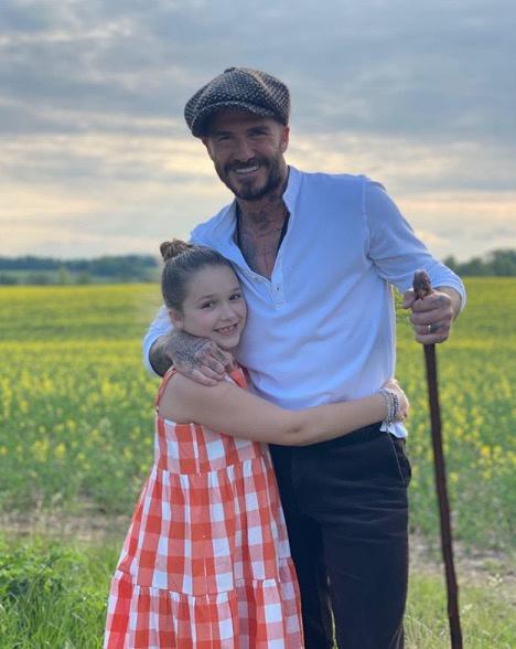 Victoria Beckham posztolta kislányáról és férjéről ezt a meghitt felvételt.