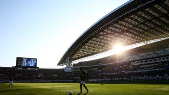Otthon ordítozhatnak, de a stadionban is hallhatják a japán szurkolókat