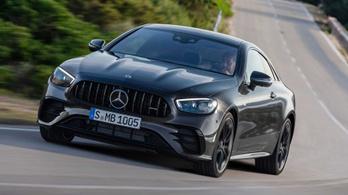 Megjöttek az új, kétajtós E Mercedesek
