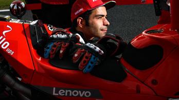 Petruccinak véget ér a ducatis karrierje a MotoGP-ben