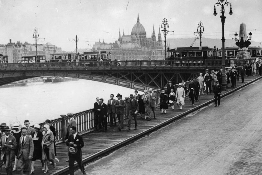 Budapest az 1930-as években.