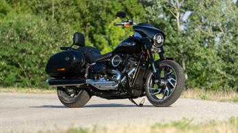 Teszt: Harley-Davidson Sport Glide - 2020.