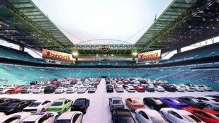 Autósmozivá válik az idei Super Bowl stadionja