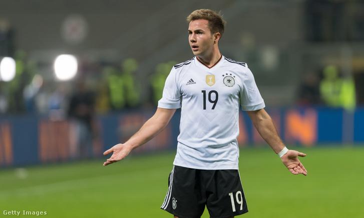 Götze a 2016-os Olaszország–Németország barátságos mérkőzésen Milánóban