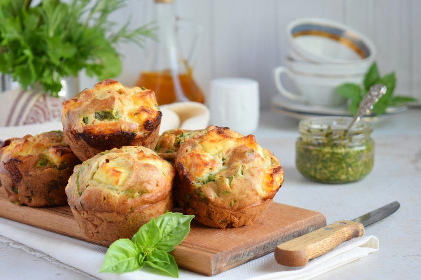 Villámgyors édesburgonyás, spenótos muffin: pogácsa helyett is elkészítheted