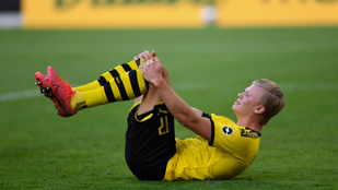 A bíró miatt sérült meg a Dortmund sztárja