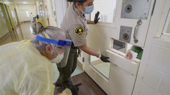 Fogdák, börtönök, húsüzemek a legnagyobb járványgócok Amerikában